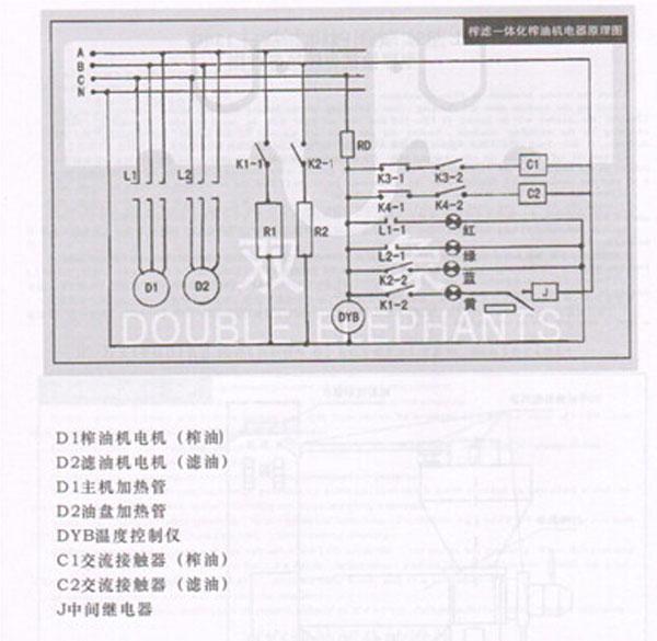 榨油机工作原理与结构操作
